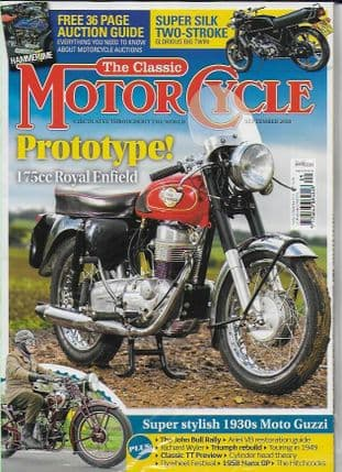 Classic Motorcycle Magazine - 2018-09 September 2018